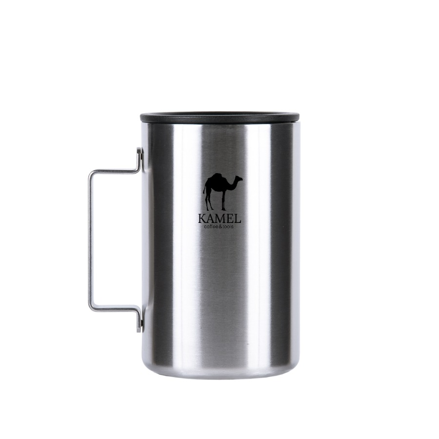 Square Stainless Mug Regular