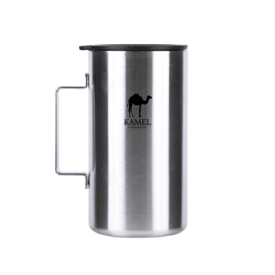 Square Stainless Mug Large