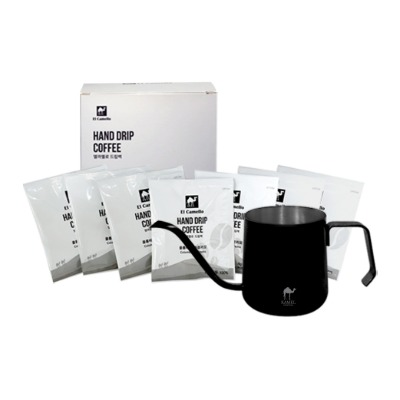 Hand Drip Port + Drip Bag Coffee 7P